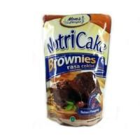 NEW ! NUTRICAKE NUTRI CAKE BROWNIES TANPA MIXER RASA COKLAT KEJU