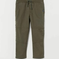 H&M Cotton Joggers - Olive Green - Boys