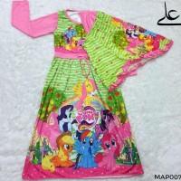 Dijual Baju Muslim Gamis Anak Perempuan 4 5 6 7 Tahun Map007 - 6 Tahun