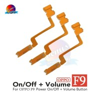 Power On Off Volume OPPO F9 Switch On/Off F9 Flexible Ori