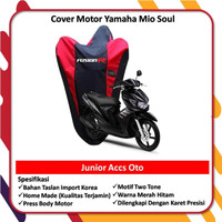 Original Taslan Body Cover Motor Waterproof Mio Soul GT Asli Sarung