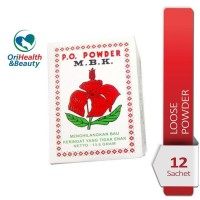 Best Seller!!! Bedak Mbk Super / Deodorant / Penghilang Bau Badan / 12
