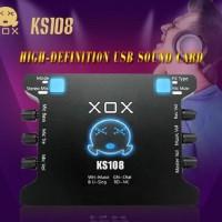 Termurah Sound Card External Xox Ks108 Online Recording Smule Ks 108
