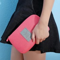 Best Seller Korea Gadget Pouch Bag / Tas Dompet Kosmetik - Handphone