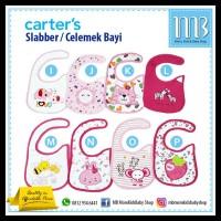 Slabber Bayi Carter / Baby Bib / Celemek Bayi GRATIS ONGKIR