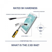 3 6 SE Full untuk Tempered 2.5d Glass Mi 8 Redmi Pelindung Pro Layar S