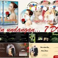 FOR SALE Desain UNDANGAN 7 DVD Terbaru SWF