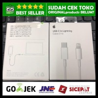 Kabel Data Apple USB-C to Lightning 1M Charge Cable PD Original New!