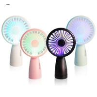 Kipas Genggam / Kipas Angin Portable / Kipas Lipat / Mini Hand Fan LED