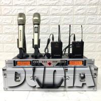 Microphone mic Wireless Sennheiser SKM 9004 - 2 Pegang - 2 Clip oN 1