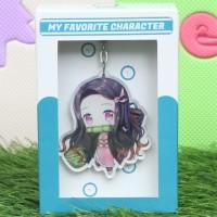 Gantungan Kunci Anime Karakter Nezuko C - Kimetsu no Yaiba
