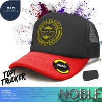 TOPI TRUCKER JARING DISTRO ROYAL ENFIELD SINCE 1901-NOBLE CLOTH001