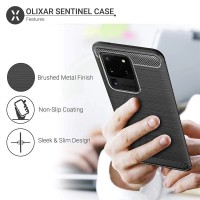 Casing Softcase Carbon Samsung Galaxy S20 Ultra Soft Back Case