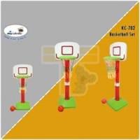 L'abeille ID Basketball Set Ring Basket Olahraga Mainan Anak KC-702
