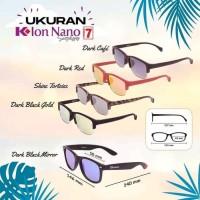 Kacamata K-ion Nano K-link Premium 7 Sunglass - Dark Cafe