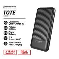 Delcell Tote Powerbank 10500 mAh Real Capacity QC PD