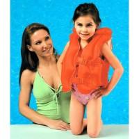Pelampung Renang Rompi Anak Orange 3-6 Tahun Intex