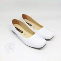 sepatu fantofel sekolah perawat putih wanita termurah - Putih, 37