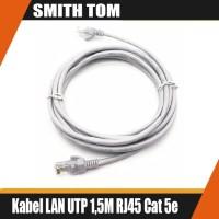 Kabel LAN UTP 1,5M RJ45 Cat 5e Cable 1,5Meter cat5e Pabrikan TERPASANG