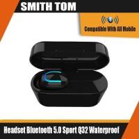 Headset Bluetooth 5.0 Sport Q32 Waterproof