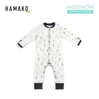 HAMAKO Basic Button Coverall