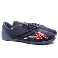 Sepatu Futsal Specs Swervo Galactica Pro IN - Black/Dk.Grey/Red