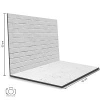 Alas Foto Lipat Bata Putih & Semen Putih / Background Foto (BIL-13)