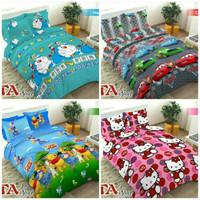 Bedcover Single Set 120x200 Keropi Cars Spongebob / Bed Cover + Sprei