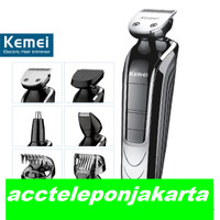 Portable Professional Broadcare Kemei Km-1832 5 in 1 Hair Clipper Trim