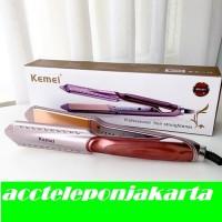 Catok Kemei 471 KM-471 Pelurus Rambut Hair Straightener Catokan