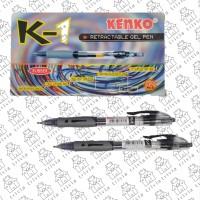 Bulpen / Ballpoint / Pulpen Kenko K1 Gel 0.5mm - Hitam