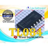 ORIGINAL TL084CDR TL084 Quad JFET Op-Amp SOIC-14 Texas Instrument