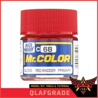 Mr Color MADDER RED C68 C 68 cat model kit