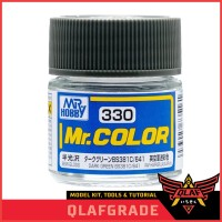 Mr Color C330 DARK GREEN BS381C 641 cat model kit