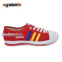Sepatu Kodachi 8111 Red / Kodachi 8111 Merah lis Kuning / Kodachi Red