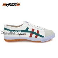 Sepatu Kodachi 8172 Putih lis Merah Hijau / Kodachi 8172 Putih MH