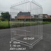 (Harga per lembar) kandang kucing anjing pagar ukuran 60x90cm