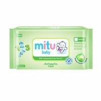 Mitu Baby Antiseptic Wipes / Tissue basah antiseptik