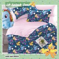 Sprei STAR Motif Unicorn Little pony ukuran 160x200x20
