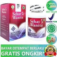 Sehat Wanita With Nano Technology Ori Upgrade Walatra Bersih Wanita - 50 Kapsul