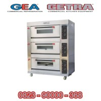 Gas Baking Oven Getra RFL-36SS / Oven Roti Gas