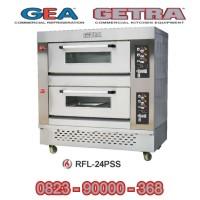 Oven Pemanggang Pizza Gas dan Listrik / Gas Pizza Deck Oven RFL-24PSS