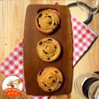 Supplier Cafe| Danish Raisin PREMIUM|Roti Croissant Kismis 50gr