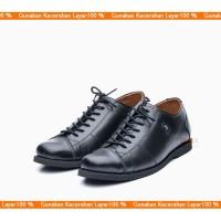 Sepatu Pria Casual Sneakers Low boot Kulit Asli Semi Pantofel BLY 535
