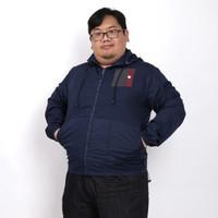 Jaket Parasut Jumbo Big Size Pria 2XL Hingga 5XL