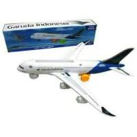 Pesawat Garuda Indonesia A380 Jumbo Baterai - Mainan dan Koleksi Anak