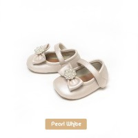 Sepatu Ballet bayi prewalker Tamagoo - Victoria Pearlwhite