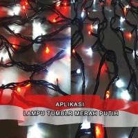 Lampu Hias LED Tumblr Merah Putih 17 Agustus Lampu Hias Natal LED