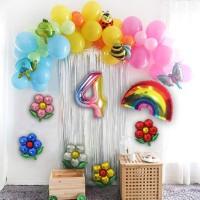 Garden's Bug Set Balloon / Dekorasi Tema Taman - 4