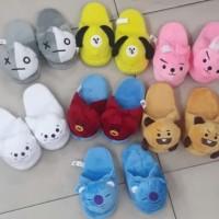 Sandal Boneka BT21 BTS (Cooky,Cimmy,koya,tata)